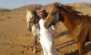 Wadi Rum, Abdullah with Mehemmak and Theeb Abiat